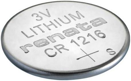 Renata Batterie Cr1216 Silber Stück 1 Elektronik