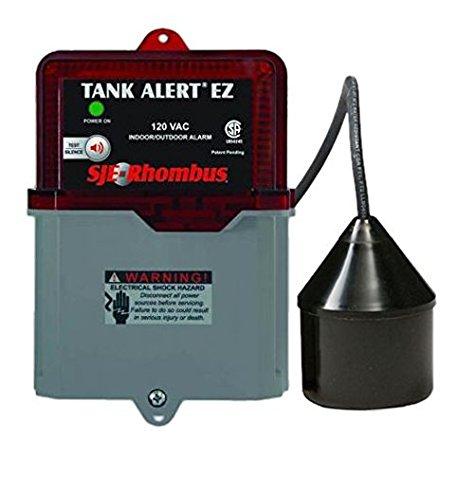 SJE Rhombus 1038035 Tank Alert EZ- TaEZ-01Ltb , 120 VAC w...