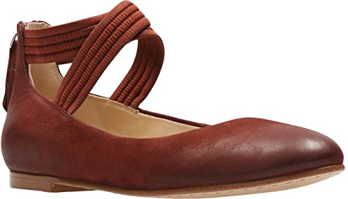 CLARKS Womens Grace Anna Shoe, Size: 6 B(M) US, Color Rust Nubuck