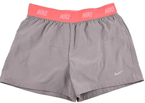 finest selection 82cd0 90494 Galleon - Nike Big Girls (7-16) Dri-Fit Woven 2-in-1 Running Shorts -Gray-Large