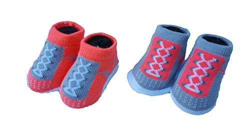 Nike Air Jordan Infant Baby Boys Booties Lava Size: 0-6 - Size Shoes 5 Toddler Jordan