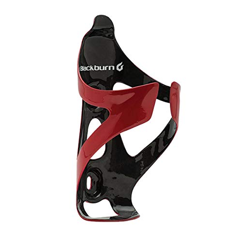 Blackburn Camber UD Carbon Cage Gloss Red/Black, One Size