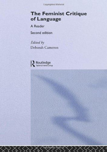 Feminist Critique of Language: second edition (World and Word) by Routledge