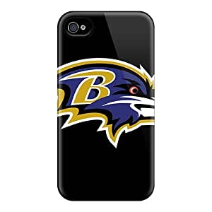 Shock Absorbent Hard Phone Cases For Iphone 6plus (BxH1162ZBnC) Custom Lifelike Baltimore Ravens Pattern