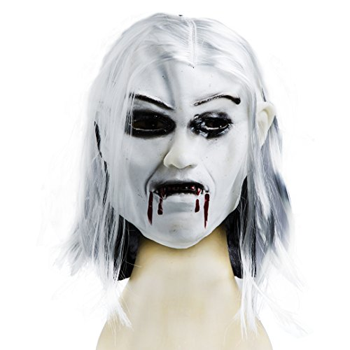 Adult Halloween Ghost Mask Scream Costume for Horror Nights (Cheap Masquerade Masks In Bulk)