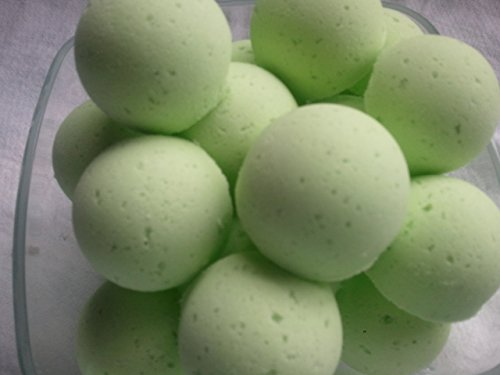 (14 CUCUMBER MELON Bath Bomb Fizzies with Shea Butter, Ultra Moisturizing (12 Oz) ...Great for Dry Skin (Cucumber Melon FBA))