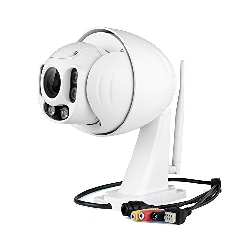 Foscam outdoor ptz 4x optical zoom hd 1080p wifi for Ip camera design tool