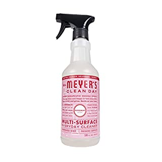 Mrs. Meyer's Clean Day Multi-Surface Everyday Cleaner, Cruelty Free Formula, Peppermint Scent, 16 oz