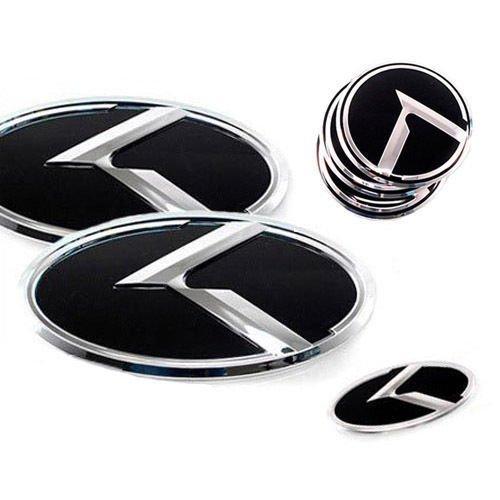 Sell by Automotiveapple, ZEO Front Hood + Rear Trunk Lid Steering Wheel Center Hub Cap K Logo Emblem 7-pc Set For 2016 Kia Sorento : ALL NEW SORENTO USA Only