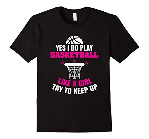 Girls Basketball T-Shirts - 8
