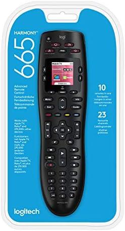 Logitech Harmony 665 Control Remoto a Distancia Universal Avanzado, SKY, Apple TV, Roku, Sonos y Smart Home, Pantalla en Color, Botones Retroiluminados, LG/Samsung/Sony/Hisense/Xbox/PS4: Logitech: Amazon.es: Electrónica