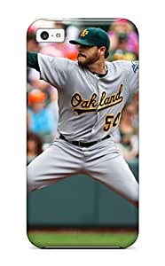 Hot 5510165K365679869 oakland athletics MLB Sports & Colleges best iPhone 5c cases