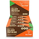 Bulletproof Bars Collagen Protein, Perfect Keto Diet Snack Bar For Men And Women (Fudge Brownie)