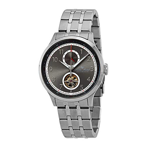 Lucien Piccard Open Heart GMT II Automatic Men's Watch LP-28010A-104