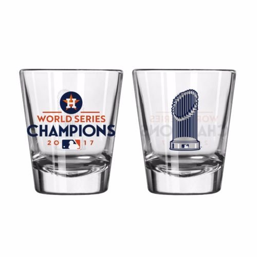 Houston Astros 2017 World Series Champions Trophy Shot Glass (Package of - Glasses Houston