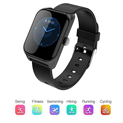 TIAOTIAO Fitness Tracker, Mpow Heart Rate Monitor Smart Bracelet Activity Tracker Bluetooth Pedometer with Sleep Monitor for Android or iOS Smartphones (Set Ram Chip Via)