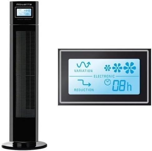 Rowenta Eole LCD VU6550 - Ventilador, pantalla LCD, 3 velocidades ...