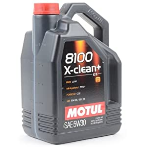 Motul 8100 X-Clean+ Engine Oil (5w-30) - 5 Liter