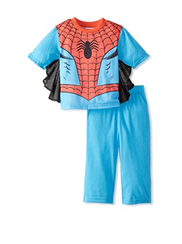 Spiderman Dress Like Spidey Toddler Pajamas With Webbed Sleeves for Little Boys (2T)