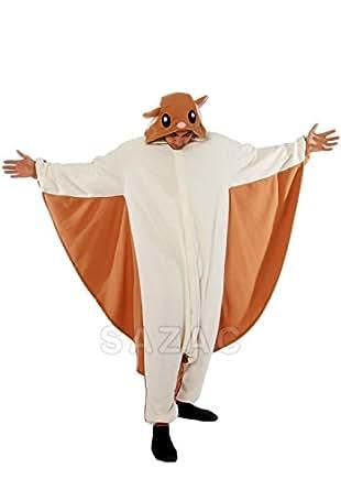 Flying Squirrel Kigurumi - Adult Costume (Adults XL)