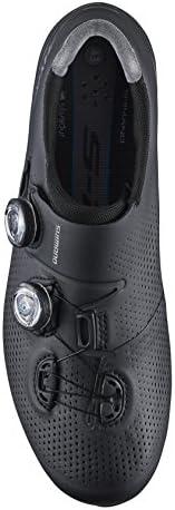 SHIMANO SH-RC901 Fahrradschuhe Weit Herren schwarz Schuhgröße EU 42 Wide 2020 Rad-Schuhe Radsport-Schuhe