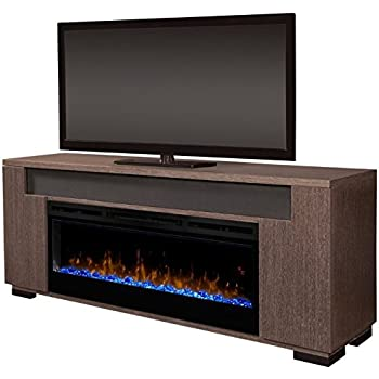 Amazon Com Dimplex Electric Fireplace Tv Stand Media