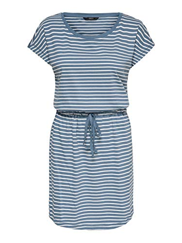 ONLY Damen Onlmay Life S/S Dress Noos Kleid