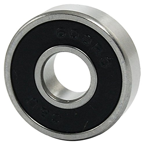 SODIAL(R) 608RS 8mm x 22mm x 7mm Shielded Deep Groove Ball Bearing