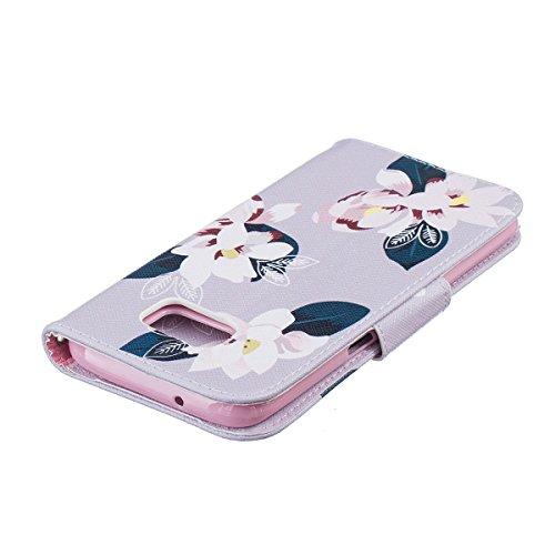 ANNNWZZD Funda Samsung Galaxy S7 Edge Slim Case con Protector , Ranuras para Tarjetas, Soporte Plegable, Cierre Magnético,[Shock- Absorción Case][Resistente a los arañazos Cover][Protección],A03 A04