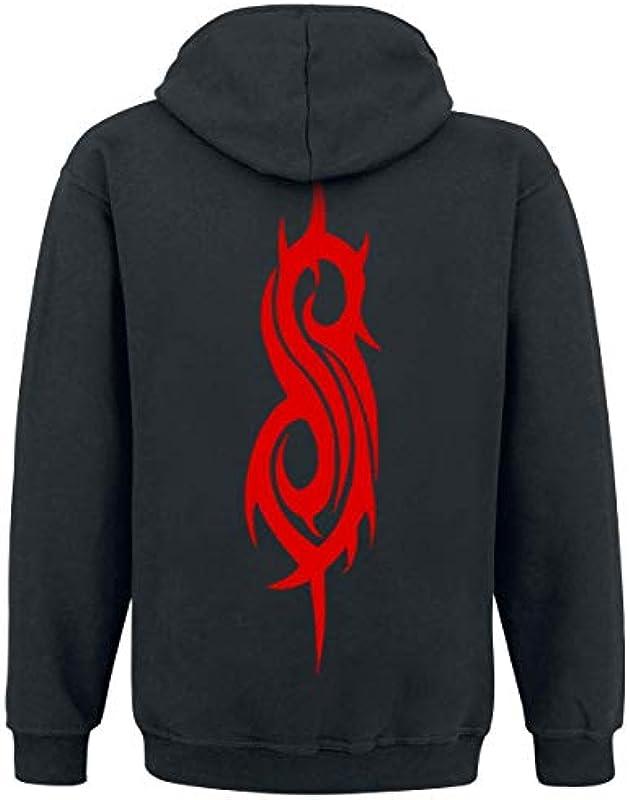 Slipknot Logo Mężczyźni sweter z kapturem czarny, Band-Merch, Bands: Odzież