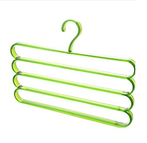 DRAGON SONIC Trousers/Towel Scarves Plastic Hangers Multi-Fu