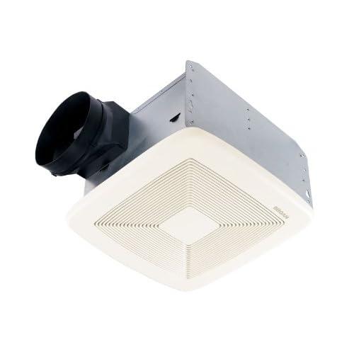 well-wreapped Broan QTXE080 Ultra Silent Bath Fan, 80 CFM, White Grille