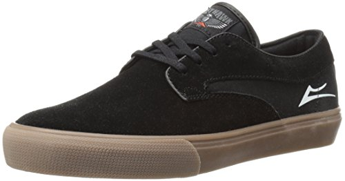 Lakai Riley Hawk Black/Gum Suede