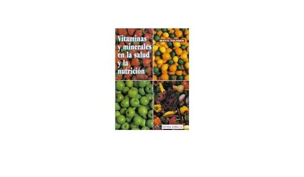 Vitaminas Y Minerales En Salud Y La Nutricion. PRECIO EN ...