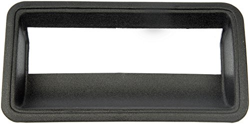 Dorman HELP! 76105 Chevrolet/GMC Black Tailgate Handle Bezel - Gmc C1500 Rear Bumper