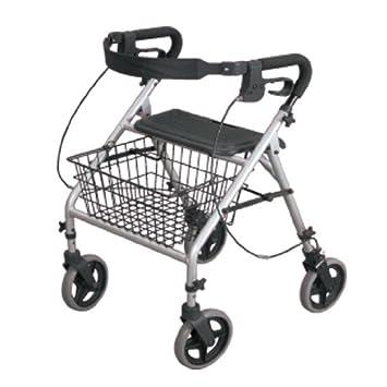 Patterson Medical - Andador de cuatro ruedas, altura ...