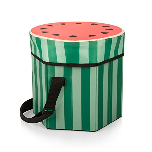 - ONIVA - a Picnic Time Brand Bongo Insulated Collapsible Cooler, Sliced Watermelon Pattern