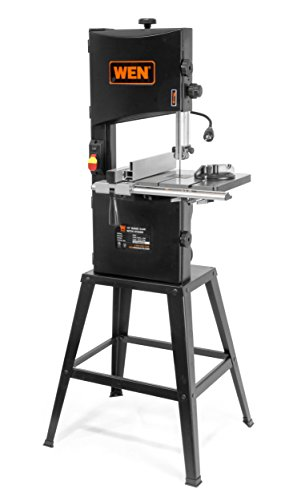 WEN 3962 Two-Speed Band Saw with Stand and Worklight, 10″