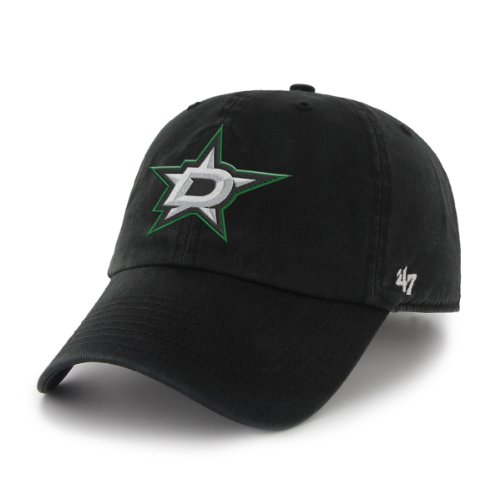 NHL Dallas Stars Clean Up Cap, One Size, Black