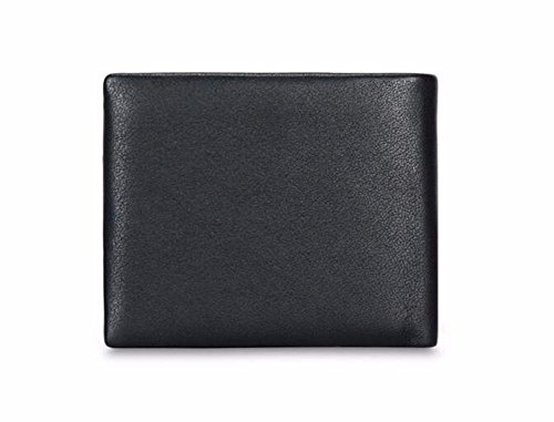 wallet open bag card B face leather soft fashionable wallet bag male Men's NHGY T5q1nRpxx