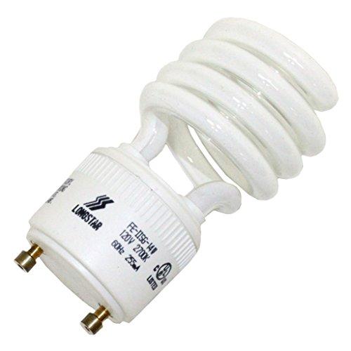 LongStar 00182 - FE-IISG-14W/27K Twist Style Twist and Lock Base Compact Fluorescent Light (Gu24 Twist Style Twist)