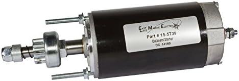 Chrysler Force Outboard Starter 12V 9 Tooth 70-150 HP 898265002 616955 480955