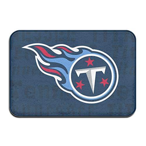 (Marrytiny Design Colorful Doormat American Football Team Tennessee Titans Indoor Non Slip Floor Doormat Mats Suitable Bathroom Bedroom Entrance Toilet 15.7 X 23.6 Inches)