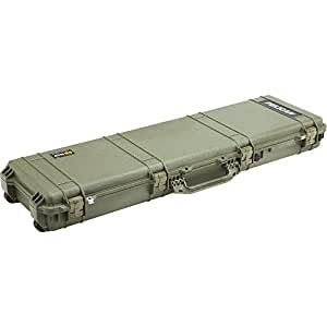 Pelican Products 1750-000-130 Long Case with Solid Foam (OD Green)