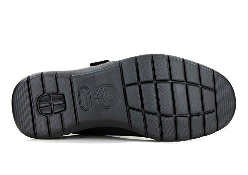 Mephisto modelo Malco Mocasín Velcro para hombre–negro–black