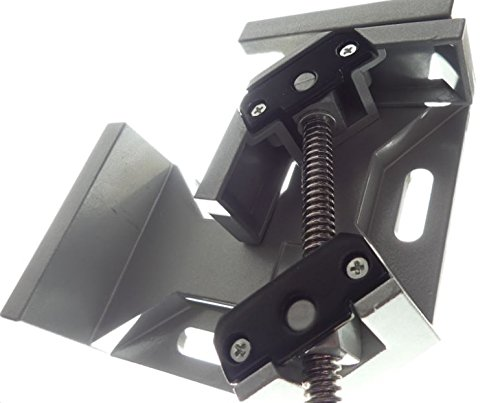 Tech Corner Clamp, Right Angle, 90 Degree, Adjustable Vise, Perfect for Woodworking, Cabinet Framing, Picture Frame, Aquarium, Workshop by Tech (Image #3)