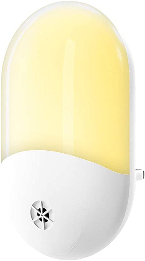NEW!!Lindam Automatic Sensor Night Light for Nursery Safety Plug in Night light