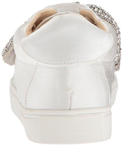 Blauw Van Betsey Johnson Womens Sb-maxi Sneaker Ivoor Satijn