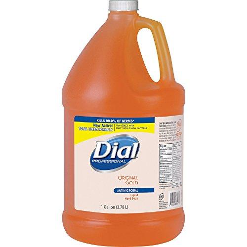 Dial 88047 Liquid Soap Refill, Antibacterial, 1 Gallon, Original (Dial Antibacterial Hand Sanitizer Pump)