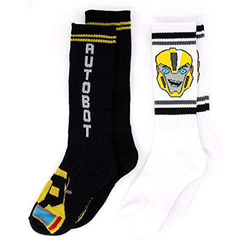Transformers Boys Socks Little Adult